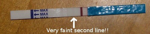 Is A Faint Line On A Pregnancy Test A Positive Test Getting