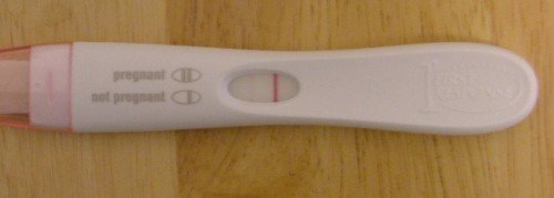 Is a Faint Line on a Pregnancy Test a Positive Test